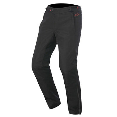 Alpinestars Protean Drystar Textile Motorcycle Trousers Black / Red