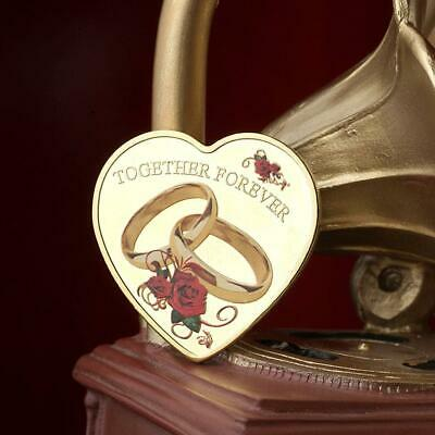 """""""52 Languages """"""""i Love You"""""""" Coins Rose Heart-shaped Friend Commemorative-Coins"""