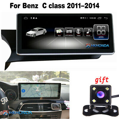 """10.25"""" Android 7.1 Car GPS Touch Navi Screen For Mercedes Benz C class 2011-2014"""