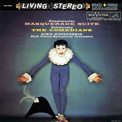RCA | Khachaturian: The Masquerade Suite/ Kabalevsky: The Comedians 200g LP