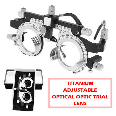 Titanium Adjustable Optical Optic Trial Lens Frame Eye Optometry Optician