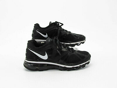 NIKE AIR MAX Youth Black Athletic Running Shoes Size 5Y Pre