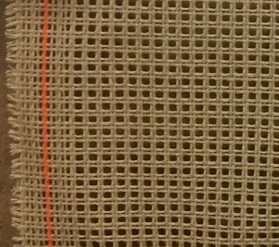 Zweigart 10 count Brown Penelope Double mesh needlepoint tapestry canvas