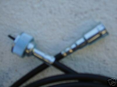 74 75 76 DEVILLE  FLEETWOOD CRUISE CONTROL SPEEDOMETER CABLE LOWER TO TRANS
