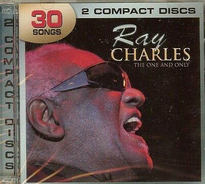 Ray Charles - The One And Only - 2 Cd Set - New - Sealed - Fast Shipping !!!