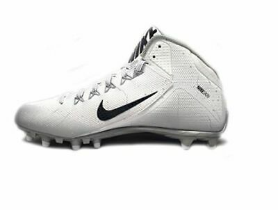 hot sale online 8708f 4c95d Football Nike Hommes Lunarbeast Pro D Football Cale Blanc Noir Taille 10  Chaussures