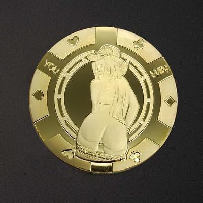 Gold Bitcoin Commemorative Round Collectors Coin Bit Coin is Gold Plated Coin HQ