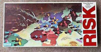 VINTAGE AMERICANA GAME by Parker Brothers Pieces In Box - No