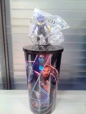 AVENGERS Infinity War THANOS 1 CUP 36oz TOPPER NEW MOVIE CINEMEX MEXICAN 2018