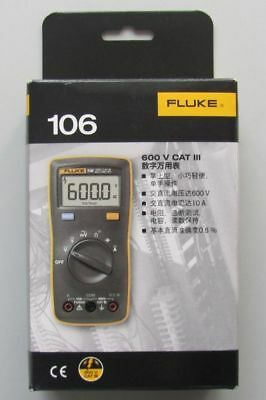 FlUKE 106 F106 Palm-sized Multimeter AC/DC/Diode/R/C auto/manual