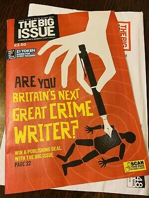 The Big Issue No. 1348 Britain'S Next Great Crime Writer?