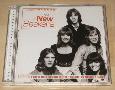 The New Seekers - The Very Best Of The New Seekers (CD 1996). Ex Cond