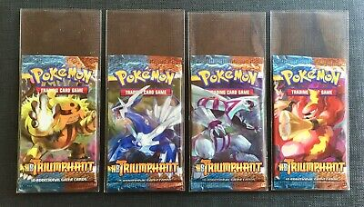 Pokemon Booster Packs Eng HS Triumphant Sealed and Unweighed