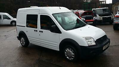 2012 / 62 PLATE Ford Transit Connect 1.8TDCi ( 90PS ) High Roof Crew T230 NO VAT