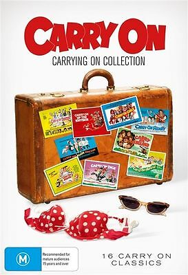 Carry On Carrying On Collection (DVD,  15-Disc Set) DVD's only - no Box