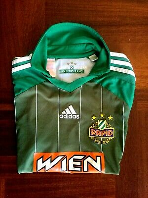 Maglia calcio adidas sk rapid wien football shirt jersey 2011 size XS young