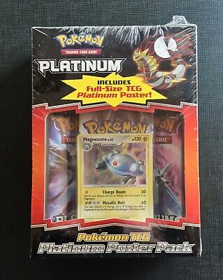 Pokemon Eng Platinum Poster pack Sealed and Unweighed