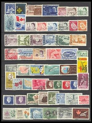Canada Postage Stamps - Mixed Collection 56 Diff. #516523