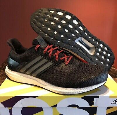 buy online c415d 6ee36 Adidas Ultra Boost ST Black Red White Size 14 NMD