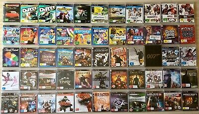 Ps3 Sony Playstation 3 Games ~ *Choose From The Drop Down Menu*