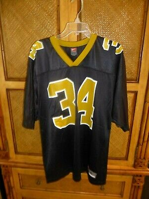 ad55d4fa9de Ricky Williams New Orleans Saints #34 NFL Nike Jersey Size Large Adult -  PERFECT