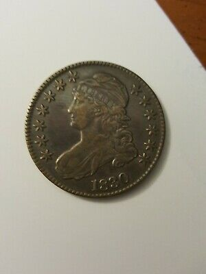 1830 CAPPED BUST SILVER 50 CENTS, A Better grade!
