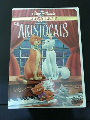 Walt Disney's The Aristocats (DVD, 2000, Gold Collection) Limited - Like New!
