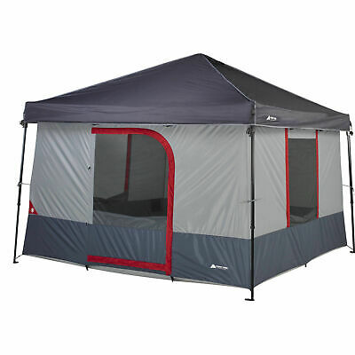 Ozark Trail 6 Person 10 x 10 Instant Cabin ConnecTen C&ing Tent Canopy New  sc 1 st  PicClick & OZARK TRAIL 16u0027 x 16u0027 Instant Canopy with Convertible Wal W ...