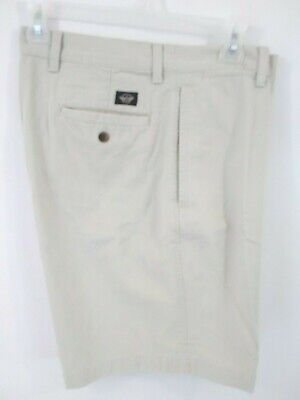 Dockers Men's Size 36 Khaki Shorts Chinos Cotton Beige