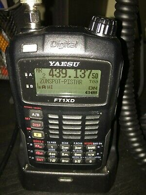 YAESU FT1XD Dual band D/A 144/430MHz Handy transceiver 5W output