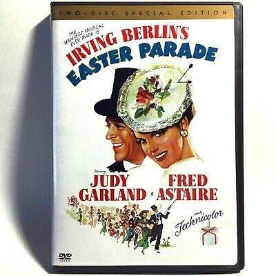 Easter Parade (2-Disc DVD, 1948) Like New ! Fred Astaire  Judy Garland