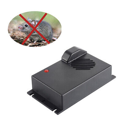 Ultrasonic Pest Repeller Electronic Rat Mouse Mice Deterrent Tool Device AC1761