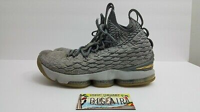 0e83602f5d4c3 NIKE LEBRON 15 XV City Edition Grey Mens Size 9 (897648-005 ...