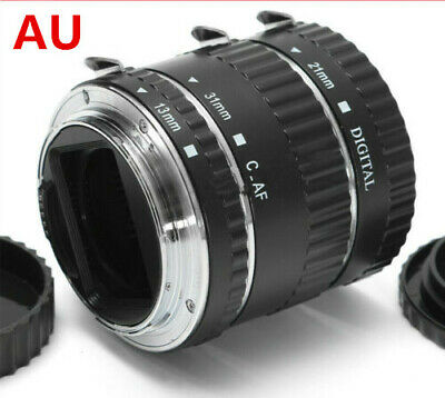 For Canon EOS Camera EF EF-S Lens DC732 AF Macro Extension Tube Ring Auto Focus