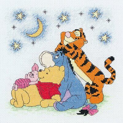 HOLIDAYS DISNEY Counted Cross Stitch Pattern__Winnie The Pooh And The Gang__