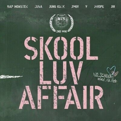 BTS-SKOOL LUV AFFAIR 2nd Mini Album CD+PhotoCard+PhotoBook+Gift