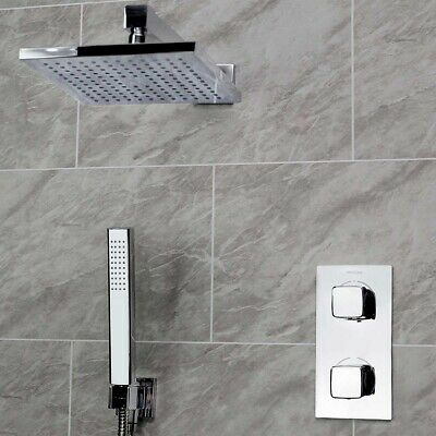 Bristan Cobalt Concealed Mixer Shower with Shower Kit + Fixed Head
