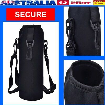 1000ML Neoprene Water Bottle Carrier Insulated Cover Bag Holder Travel Uesful