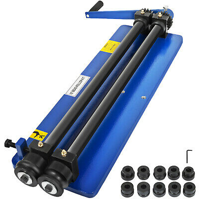 """18"""" Bead Roller Former Swager Rotary Swaging Machine Adjusting Tough  Roll Rack"""