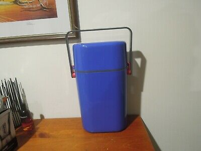 Retro DECOR Wine Drinks Water Cooler, BLUE