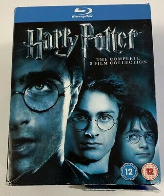 Harry Potter: The Complete 8-film Collection Blu-ray (2011)