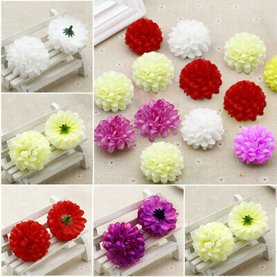 50 PCS Artificial Fake Silk Daisy Flower Home Wedding Party Bouquet Decoration