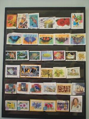 Australia 35 decimal stamps ALL DIFFERENT