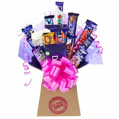 Mothers Day Cadbury Chocolate Bouquet Super Mom Gift Hamper - Perfect Gift