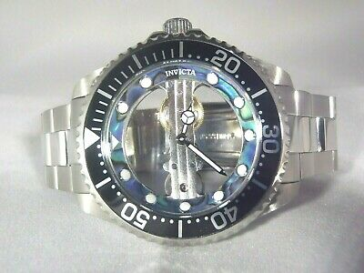 Invicta Men's 47mm Pro Diver Ghost Mechanical Skeletonized Dial Stainless Watch