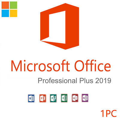 Office 2019 Professional Plus 32/64 Bit Genuine Product Key + Instant Delivery