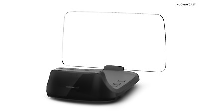 HUDWAY Cast — Heads up display (HUD) Car GPS Navigation Projector Driving Gadget