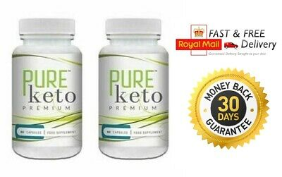 PURE KETO PREMIUM (2x60 Capsules)   Weight loss Formula FAST & FREE DELIVERY