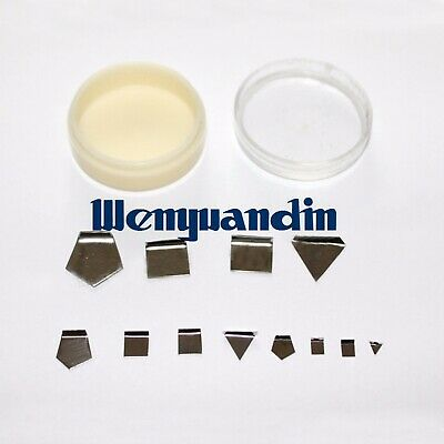 12pcs Milligram Calibration Weight Set 1mg-50mg For Scale Balance Test