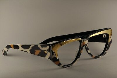 8bacd803ba1 NOS NOUVELLE VAGUE Vintage Sunglasses ANIMALIER eyeglasses made in Italy   90s